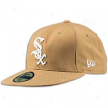 White Sox New Era 59fifty Bawic Cap - Mens - Wheat/white