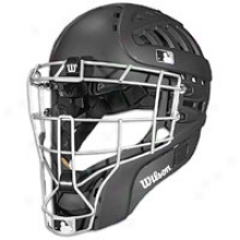 Wilsln Pro Shock Fx 2.0 Catchers Mask - Black
