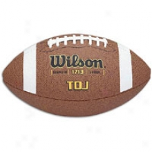 Wilson Tdk Junior Composite Football - Big Kids