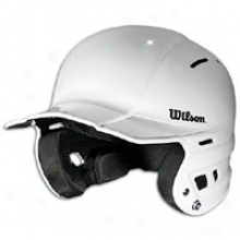 Wilson Youth The One Batting Helmet - Big Kids - White