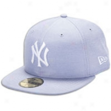 Yankees New Eda Mlb Chambray Cap - Mens - Light Blue/white