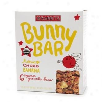 18 Rabbits Bunny Bar, Organic Granola Bars, Rocco Choco Banana