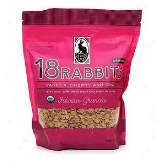 18 Rzbbits Felicitas Granola, Vanilla, Cherry& amp; Chia Seeds