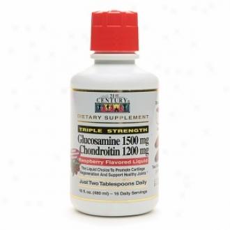 21st Centuru Glucosamine 1500mg Chondroitin 1200mg, Raspberry