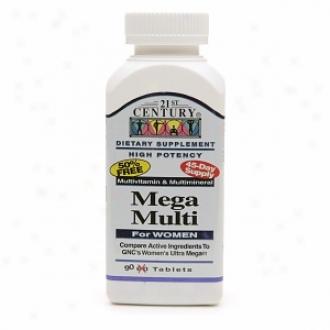 21st Century Mega Mulit For Women, Multivitamin & Multimineral