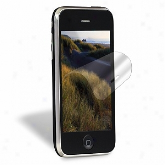 3m Natural View Screen Protecyors For Apple Iphonr 3gs, Transparent