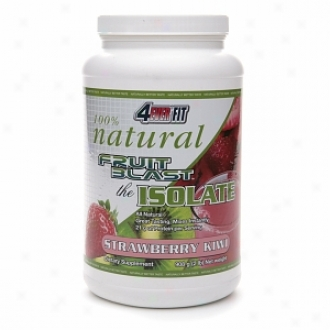 4Always Fit 100% Natural Fruit Blast The Isolate, Strawberry Kiwi