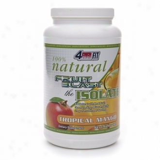 4ever Fit 100% Natural Fruit Bllast The Isolate, Tropical Mango