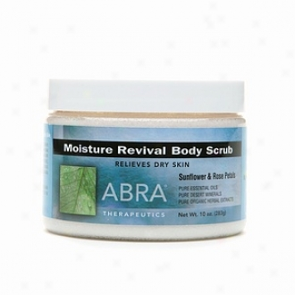 Abra Moisture Revival Body Scrub, Sunflower & Rose Petals