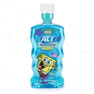 Act Kids Anticavity Fluoride Treatment Rinse, Ocean Berdy