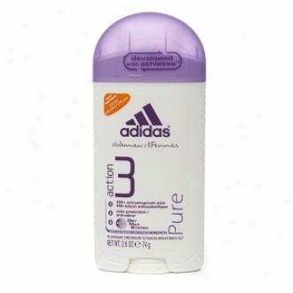 Adidas Women's Antiperspirant & Deodorant Solid, Pure