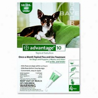 Advantage For Dogs And Puppies 7 Weeks And Older, 0-10 Lbs