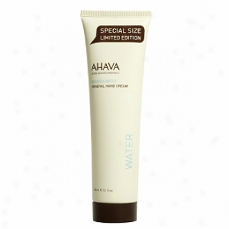 Ahava Deadsea Water Mineral Hand Cream - Special Size Limited Edition