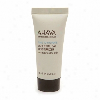 Ahava Essential Lifetime Moisturizer For Normal To Dry Skin, Travel Size