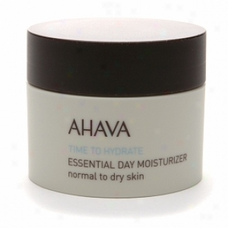 Ahava Time To Hydrate Essential Dat Moisturizer Normal To Dry Skin