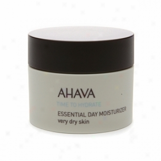 Ahava Time To yHdrate Essential Day Moisturizer Very Dry Skin