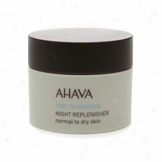 Ahava Time To Hydrate Darkness Replenisehr Normal To Dry Skin