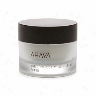 Ahava Time To Smooth Age Control Day Moisturizer, Spf 15