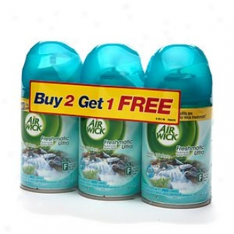 Air Wick Freshmatic Ultra, Refill, Buy 2, Get 1 Free, Fresh Waters, Florid Waters
