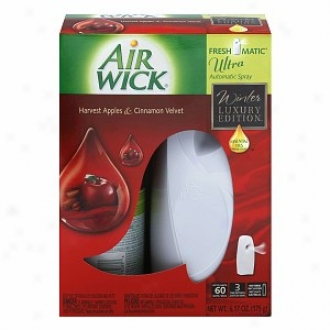 Air Wick Freshmatic Ultra Starter Kit, Apple Cinnamon Medley