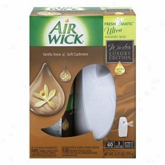 Air Wick Freshmatic Ultra Starter Kit, Vanilla Indulgence
