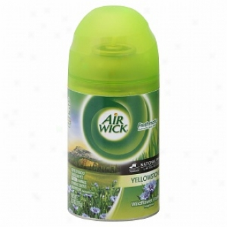 Air Wic kLimited Edition National Park Series Freshmatic Ultra, Refill, Yellowstone Wildflower Valley