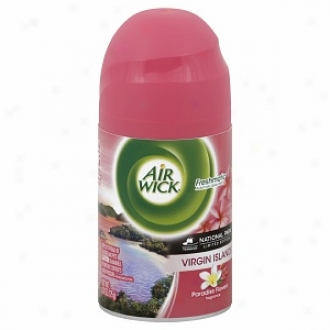 Air Wick Limited Edition National Park Series Freshmatic Ultra, Refill, Virgin Island Paradise Flowers