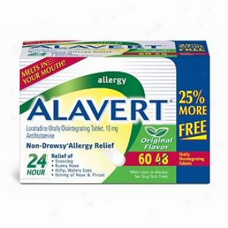 Alavert Orally Disintegrating Tablets 47 + 12 Bonus Gang