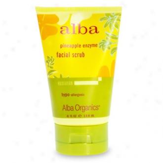 Alba Hawaiian Facial Scrub, Pineapple Enzyme