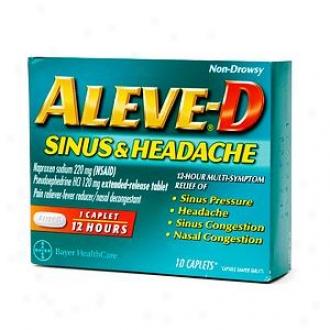 Aleve-d Sinus & Headache, Caplets