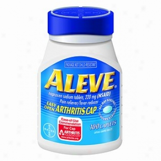 Aleve Pain Reliever, Fever Reducer, 220mg Tableys, Easy Open Cap