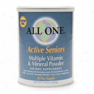 All One Active Seniors Multiple Vitamin & Mineral Dust