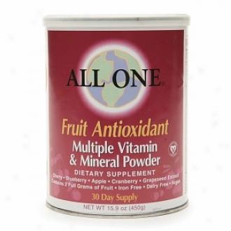 All Onne Fruit Antioxidant Multiple Vitamin & Mineral Powder