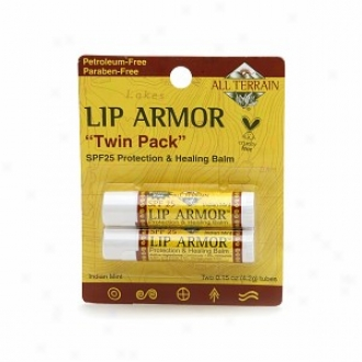 All Terrain Edge Armor Protecfion & Healing Lip Balm Spf 25