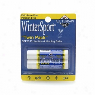 All Terrain Wintersport Protection & Healing Lip Balm Spf 25
