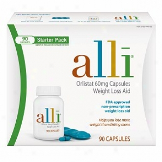 Alli Scale Loss Aid Starter Pack, 90 Capsules