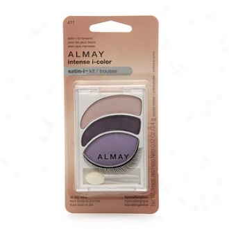 Almay Intense I-color Satin-i Kit All Sunshine Wear Powder Shadow, For Browns