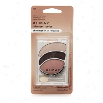 Almay Intense I-color Shimmer-i Kit All Day Wear Powder Shadow, For Browns