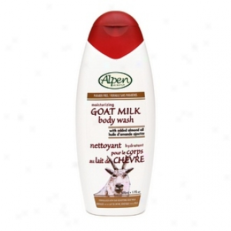 Alpen Secrets Goat Milk Moisturizing Body Waste, Rude Fresh