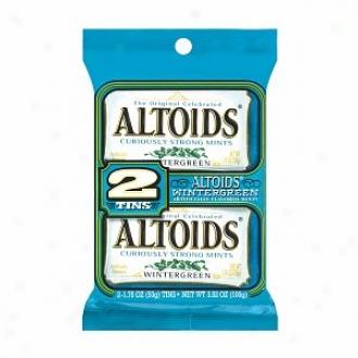 Altoids Twin Pack Mints, Wintergreen