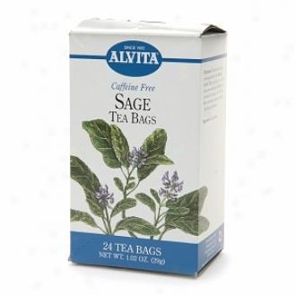 Alvita Caffeine Free Tea, Sage