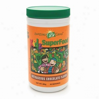 Amazing Grass Kidz Superfood Drink Powder,O utrageous Chocolate