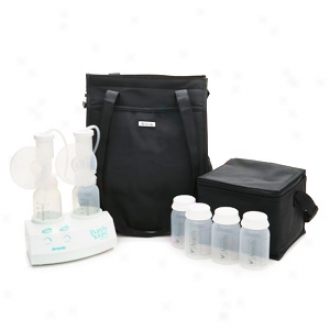 Ameda Purely Yours Electric Double Breast Pump, With Carry All