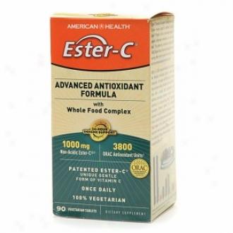 American Health Ester-c Advanced Antioxidant Formula With All Food Complex