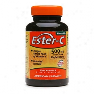 American Health Ester-c With Citruq Bioflavonoids 500mg Capsules