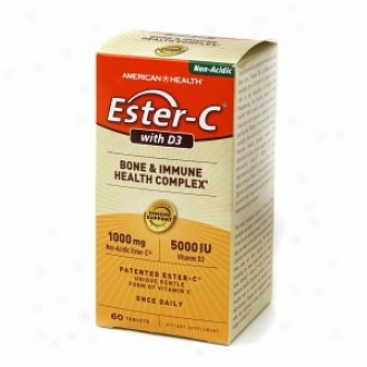 American Health Ester-c With D3 Bone & Immune Health Complex, Tablets