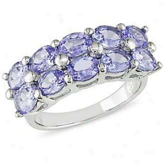 Amour 3 1/10 Ct Tgw Tanzanite Fashion Ring Soft and clear , 6