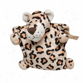 Animal Planet Leopard 3 In 1 Travel Buddy - A Toy, Pillow & Blanket