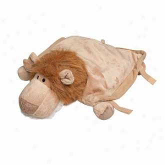 Animal Planet Lion 3 In 1 Travel Buddy - A Toy, Piliow & Blanket