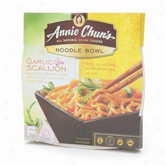 Annie Chun's All Natural Asian Cuisine, Noodle Bowl, Garlic Scallion